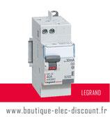 Int.dif. 40A 30mA type A Réf 411638 Legrand