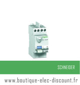 Int. diff. 40A 30mA A IDCLIC XP Réf 23158 Schneider