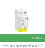 Int. diff. 63A 30mA AC Resi9 XP ID Réf R9PRC263 Schneider