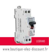 Disjoncteur 20A à vis Réf 406775 Legrand