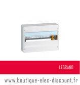 LEGRAND - Coffret DRIVIA 18 modules - 1 rangée - Réf 401221