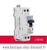 Disjoncteur LEGRAND 16A à vis Réf 406774