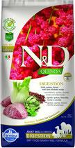 N&D Hundefutter  Digestion mit Lamm Quinoa, Fenchel, Minze und Artischocke