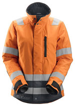 1137 AllroundWork, Damen High-Vis 37.5® isolierte Arbeitsjacke, Klasse 2/3