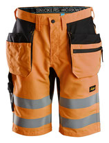 6131  LiteWork, High-Vis Shorts+ Holstertaschen, Klasse 1
