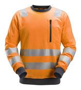 8037  AllroundWork, High-Vis Sweatshirt, Klasse 2/3