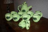 Service complet théière + 8 mugs + sucrier