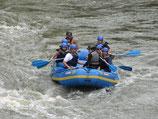 Raften op de Rijn
