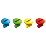 Tube Screw (20 pcs./4 colours)