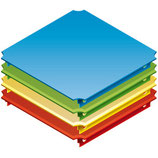 Panel 40 x 40 cm for Plexiglass