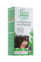Hair colouring with plant extract Dark chestnut No2