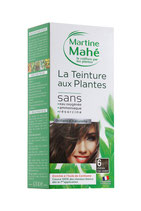 Hair colouring with plant extract Light Ash Chestnut No6