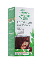 Hair colouring with plant extract Auburn No7
