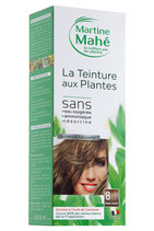 Hair colouring with plant extract Ash Blond No8