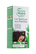 Hair colouring with plant extract Chestnut No4
