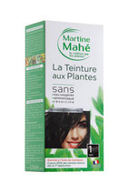 Hair colouring with plant extract Black No1