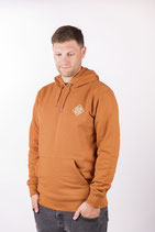 "UNISEX Hoody ""Snappy"" roasted orange"