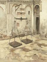 Marrakech Waage - FINE ART PRINT ORIGINAL - 89 x 115,6 cm