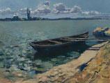 Donau bei Bratislava - FINE ART PRINT ORIGINAL - 116 x 89,2 cm