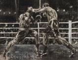 Schwergewichtskampf - Infight - FINE ART PRINT EDITION - 90 x 69,2 cm