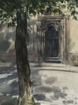 Udine - Hauseingang - FINE ART PRINT EDITION - 55,5 x 74 cm