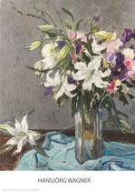Sommerblumen - KUNSTPOSTER DIN A1