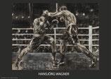 Schwergewichtskampf - Infight - KUNSTPOSTER DIN A1