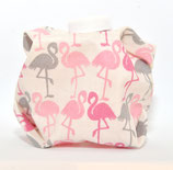 Flamingos rosa/pink/grau