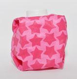 Sterne pink auf pink