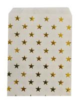 Papierbeutel mit Sternen oder Punkte