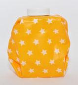 Sterne weiss auf gelb