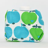 Äpfel blau/grün