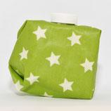 Sterne weiss auf grasgrün