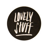 "Sticker ""lovely stuff"" 10 Stk."