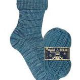 Opal Sockenwolle Ocean blaue Lagune