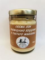 Crema con parmigiano reggiano e tartufo Marzuolo