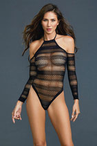 Bodysuit - Red Diamond Style 11287 schwarz