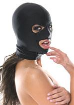 Dehnbare Fetisch Maske '3 Hole'