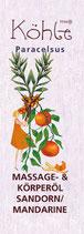 Massage- und Körperöl Sanddorn/Mandarine