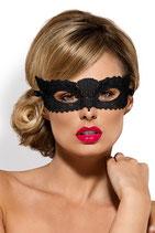 "Guipure-Maske ""A700"" schwarz"