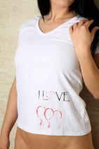 T-Shirt weiß GG