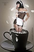 Hausmädchen-Kostüm CR3136