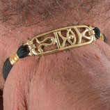 Penis Armband Hieroglyph gold