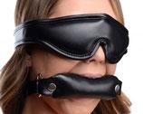 Set mit Augenbinde und Knebel