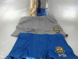 Disney Minions Despicable me Jungen Boxershorts Set