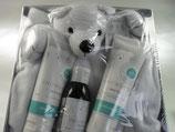 Dans un Jardin Snowdrop Babypflege Geschenkset Eisbär