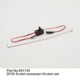 881135 Interruttore con asta - Switch connector + rod