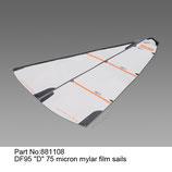 881108 Vela D 75 micron mylar - Sail D 75 micron mylar
