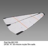 881105 Vela A 50 micron mylar - Sail A 50 micron mylar