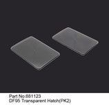 881123 Copertura trasparente (2 pz) - Trasparent hatch (2 pcs)